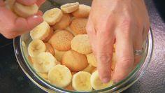 Alton Brown's Baked Banana Pudding