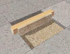 Ret de skæve terrassefliser – så nemt er det | Gør Det Selv Garden Paths, Bath Mat, Handmade, Construction, Outdoor, Tips, Design, Home Decor, Building