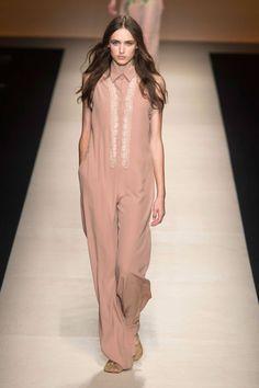 {Alberta Ferretti Spring/Summer 2015} Milan Fashion Week Spring 2015 - Best Milan 2015 Runway Fashion - Harper's BAZAAR