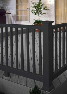 "# 75817 SIZE         4 1/8"" x 4 1/8"" x 4' APPLICATION Railing MATERIAL Composite COST $ LEAD TIME Days Install Deluxe Rail of the Sev #Severe #Weather BRAND Severe Weather MODEL Railing Design, Deck Design, Deck Flooring, Deck Colors, Deck Makeover, Outdoor Steps, House Deck, Backyard Patio Designs, Deck Railings"