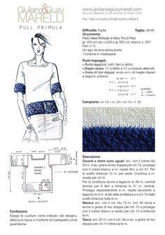 Risultati immagini per giuliano e giusy marelli Easy Knitting, Loom Knitting, Knitting Stitches, Knitting Designs, Knitting Needles, Knitting Machine Patterns, Knit Patterns, Crochet Cardigan Pattern, Knit Crochet