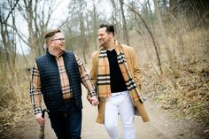 Chicago Wedding Photographer | J. Brown Photography - Same sex gay engagement session at Starved Rock State Park Illinois.