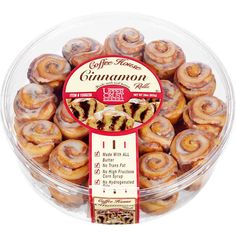 Upper Crust Coffee House Mini Cinnamon Rolls 19 Life-Changing Costco Groceries You've Probably Never Tried Before Baking Packaging, Cookie Packaging, Food Packaging Design, Bottle Packaging, Mini Desserts, Brazi Bites, Nature Valley Granola, Healthy Recipes, Yummy Recipes