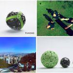 Câmera em formato de bola tira fotos panorâmicas ao ser jogada para o ar