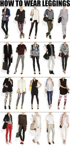 tips to style leggings, how to style leggings in different ways