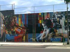 art walls @art & design district miami