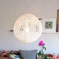 毛糸と風船で手作りするランプシェード、年末にお手軽模様替えはいかが?