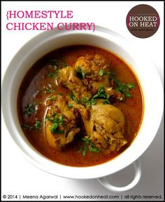 Curry in a Hurry: Homestyle Chicken Curry | http://www.hookedonheat.com/2014/08/12/curry-in-a-hurry-homestyle-chickencurry/
