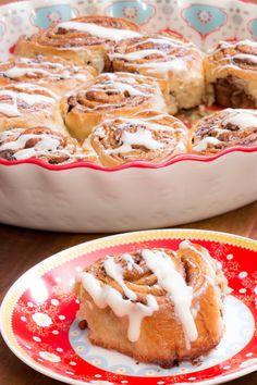 Cinnamon Rolls com Nozes Pecan | Vídeos e Receitas de Sobremesas