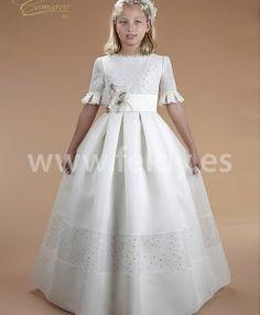 Vestido comunión niña Cemaros P576 en Salamanca