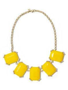 Sparkle stone necklace   Banana Republic