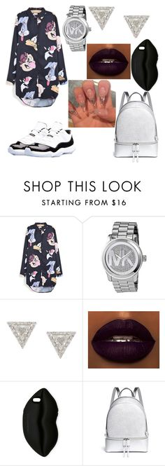 """Looney"" by ivory715 ❤ liked on Polyvore featuring Retrò, Michael Kors, Lizzie Mandler and STELLA McCARTNEY"