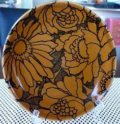 Bouquet D850 Plates For Sale, Side Plates, Auckland, Stoneware, Flora, Bouquet, Crown, Ceramics, Dishes