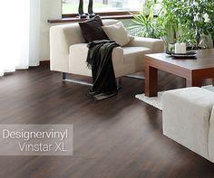 Für eine besonders warme Optik – die Designervinyl Vinstar XL Landhausdiele in Schwarznuss. https://www.parkett-direkt.net/designervinyl-vinylboden-schwarznuss-dunkel-holzstruktur-klicksystem-9-5mm-landhausdiele-vinstar-xl-292005.html #vinylboden #vinylparkett #landhausdiele #design