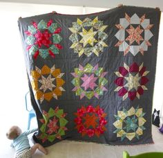 Swoon quilt by Camille Roskelley