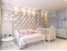 Furnishing Frogmore Cottage: 8 Things Meghan Will Want in the New Sussex Home - Dress Like A Duchess Baby Boy Rooms, Baby Bedroom, Baby Room Decor, Girls Bedroom, Baby Bedding, Luxury Nursery, Baby Room Design, Girl Room, Decoration