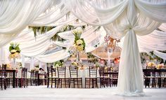 Reception Tent by Kevin Lee