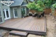 20 Insanely Cool Multi Level Deck Ideas For Your Home! 2019 Best Multi Level Deck Design Ideas For Your Home! The post 20 Insanely Cool Multi Level Deck Ideas For Your Home! 2019 appeared first on Deck ideas. Back Patio, Backyard Patio, Backyard Landscaping, Back Yard Deck Ideas, Pergola Patio, Landscaping Ideas, Gazebo, Patio Deck Designs, Patio Design