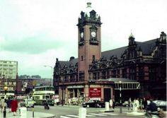 Victoria Station, Nottingham, 1960s.