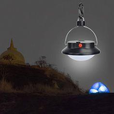 1-2 Portable 60LED Hanging Camping Fishing Outdoor Tent White Light Lamp Lantern