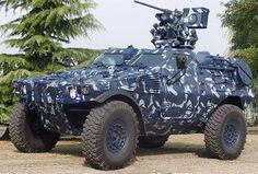French.  Panhard Mk II VBL