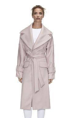 The Harper- Boyfriend-Style Cashmere Coat