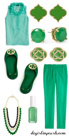 On the blog: How to Style St. Patrick's Day Outfits