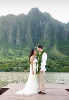 Oahu Unique Wedding Venue: Kualoa Ranch  This historic 4,000-acre working cattle ranch, located about 45 minutes from Honolulu, has been featured in TV shows Lost and Hawaii Five-0 — and it can be the beautiful backdrop for your wedding. Choose from the private beach on Secret Island and the open-air Molii Pavilion & Gardens.