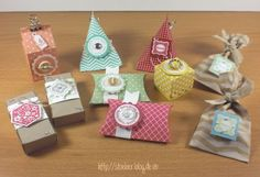stampin up, give aways