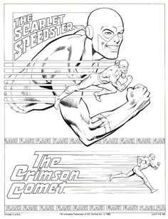 63 Best Lineart Flash Family Friends Foes Images Kid Flash