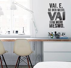 "Adesivo de Texto ""Vai"", by I-Stick"