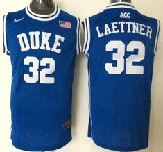 Buy Duke Blue Devils Christian Laettner Blue Basketball New Stitched NCAA Jersey  Authentic from Reliable Duke Blue Devils Christian Laettner Blue Basketball  ... 2c694c6ff