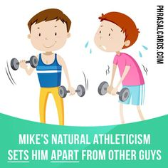 """""""Set apart"""" means """"to distinguish, to be better than or different from others"""".  Example: Mike's natural athleticism sets him apart from other guys."""