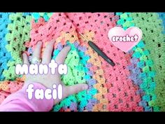 "COMO HACER MANTA RAPIDA Y FACIL A CROCHET SIN COSER ""crochet blanket for beginners"" - YouTube"