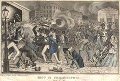 10 Worst Race Riots in American History - The Philadelphia Nativist Riots (1844): The nativists were a group of white, anti-Irish Catholic Protestants opposed to immigration. Their rioting took place during two separate months, from May 6 to 8, and July 6 to 7