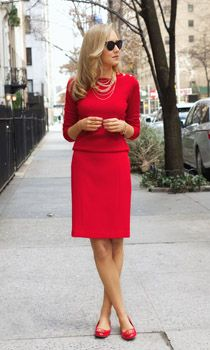 Pantofii rosii sunt in trend
