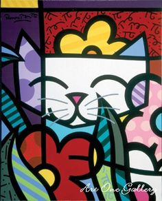 Romero Britto - Behind-the-Flowers.jpg