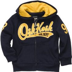 OshKosh B'Gosh Fleece Logo Hoodie - Classic Navy-2T OshKosh B'Gosh. $15.29