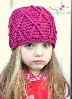 Ravelry: Reversible Harlequin Beanie pattern by Crochet by Jennifer