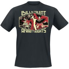 Afraid of heights - T-Shirt by Billy Talent