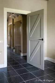 Mooie kleurcombinatie met de deuren