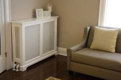 Radiator covers made by cabinetmakers are a specialty of Fichman Furniture Inc.