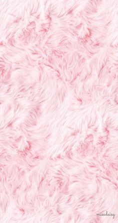 Pink fluffy fur iPhone wallpaper