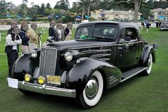 1937 Cadillac V-16 Fleetwood 2 Passenger Coupe | Flickr - Photo Sharing!