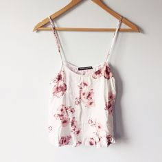 Blossom Laynie top Pink blossom laynie top! Really cute and light. Looks great layered during the winter and on its own during the summer. Brandy Melville Tops Tank Tops