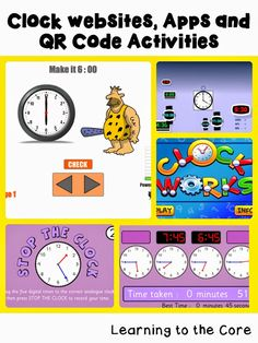 Links to telling time activities