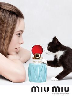 Miu Miu Fragrance. Smells as sweet as a Miu Miu girl should.