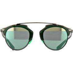 Dior So Real I1A82 Ruthenium and Military Sunglasses | Pretavoir ($435) ❤ liked on Polyvore featuring accessories, eyewear, sunglasses, glasses, military glasses, military eyewear and military sunglasses