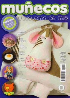 Album Archive - munecos y juguets 29 Sewing Magazines, Soft Sculpture, Book Crafts, Fabric Crafts, Needlework, Free Pattern, Album, Quilts, Dolls