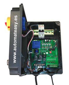 central de motor de puerta seccionada INDUS 50.  www.automateasy.es